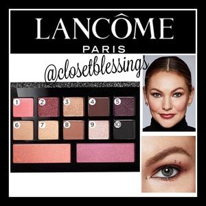 "LANCÔME EYE SHADOW & BLUSH PALETT IN ""GLAM"""